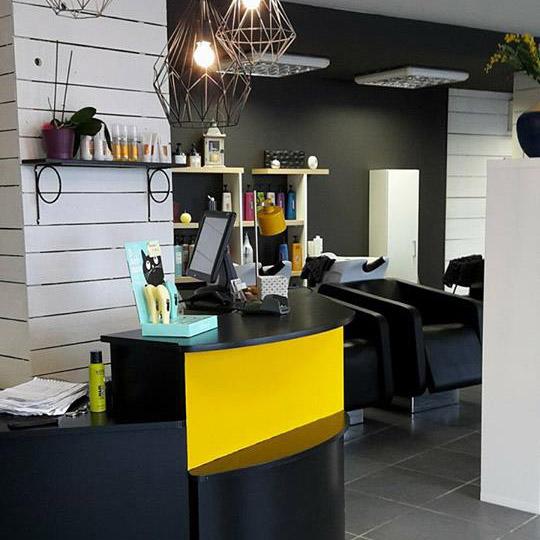 Projet de rénovation et décoration d'un salon de coiffure